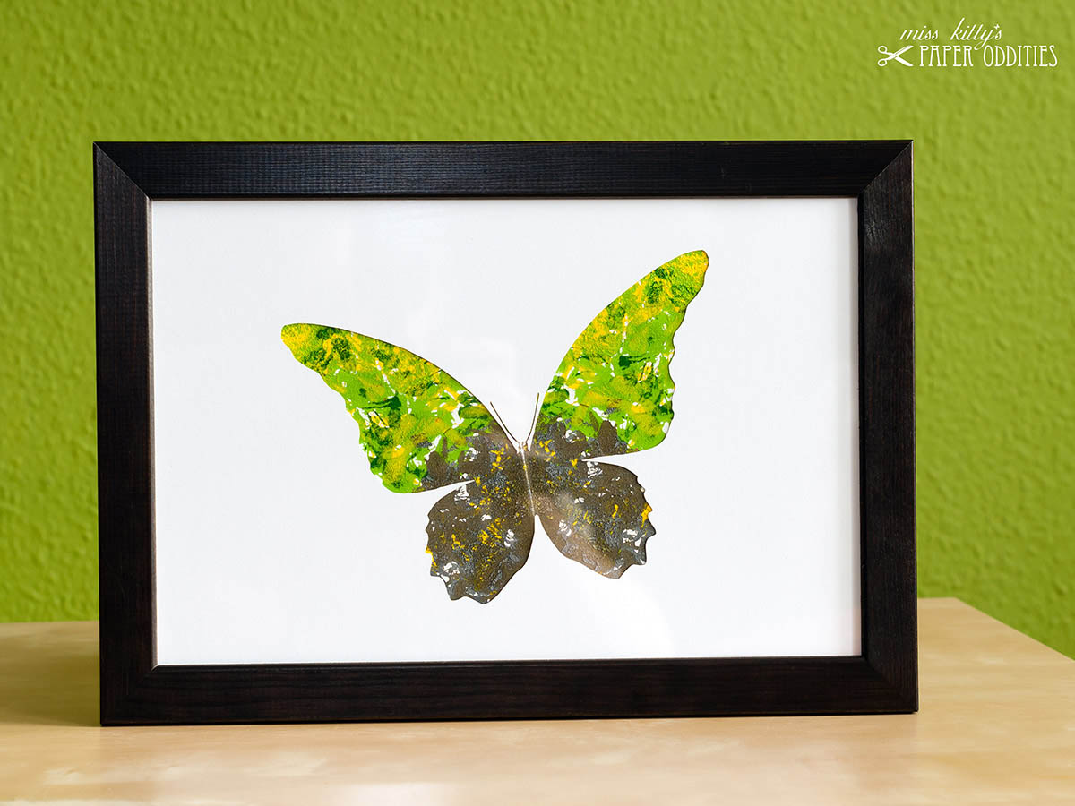 DIY Bastelset Schmetterling No. 1
