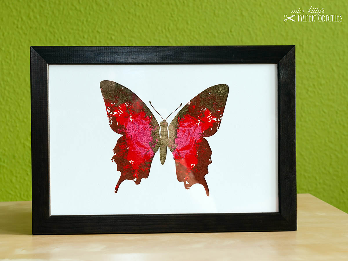 DIY Bastelset Schmetterling No. 4